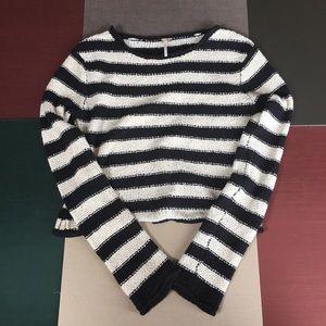 Free People Beach Baja Oversize Knit Sweater